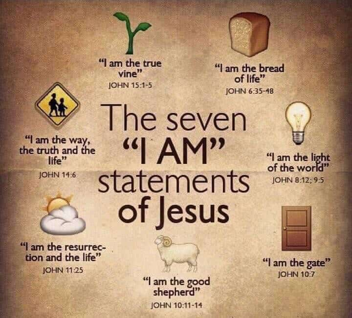 "Jesus, the ""I AM"" of our lives"