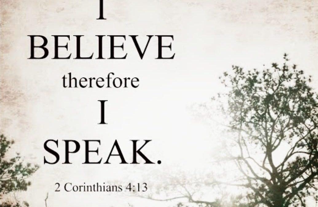 [Sermon Note] Speak Life not Death
